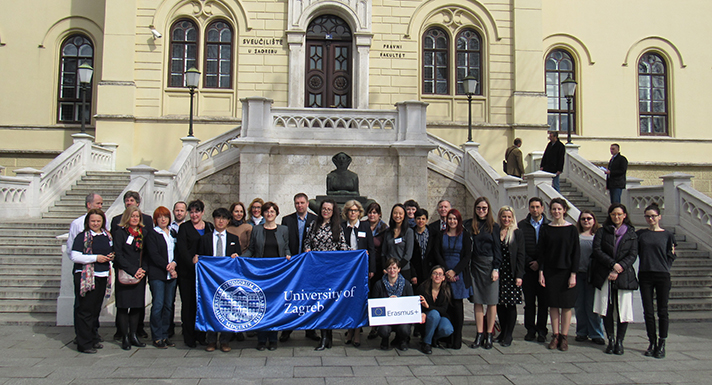 First Erasmus International Staff Week Opened At The University Of Zagreb